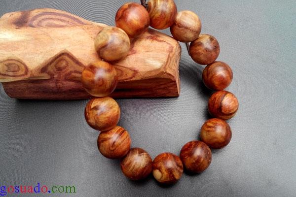 Vòng tay gỗ sưa 1,6cm